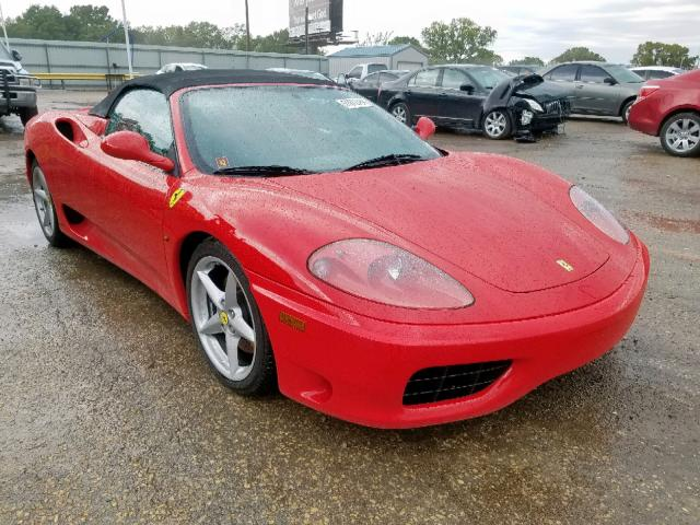 click here to view 2002 FERRARI 360 SPIDER at IBIDSAFELY