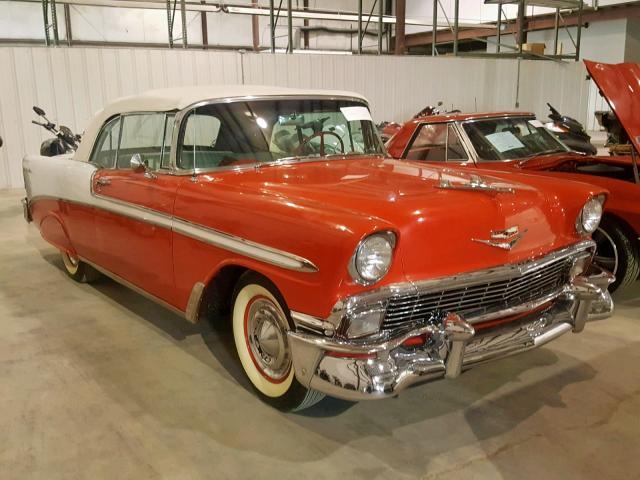 Belair Auto Auction >> Chevrolet Belair 1956 Vc56n068579 Auto Auction Spot