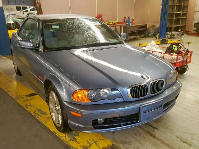 BMW salvage cars for sale: 2001 BMW 325 CI