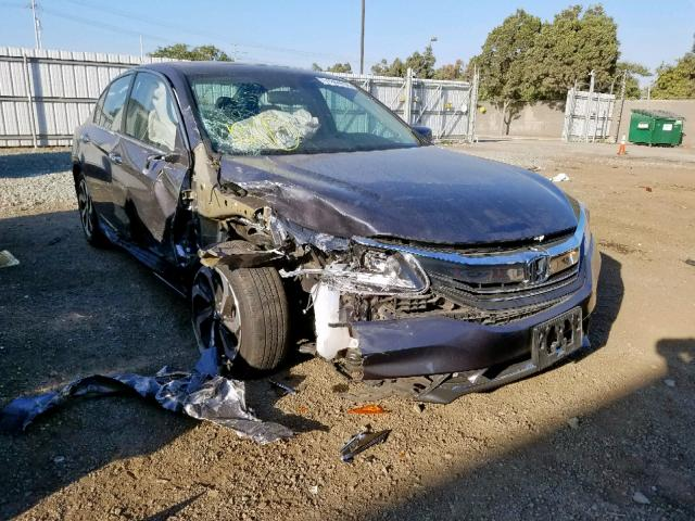 Honda Accord EXL salvage cars for sale: 2016 Honda Accord EXL