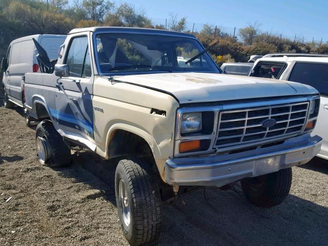 1986 FORD  BRONCO U10