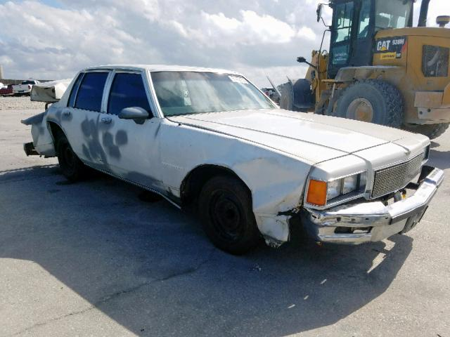 Chevrolet Caprice salvage cars for sale: 1986 Chevrolet Caprice