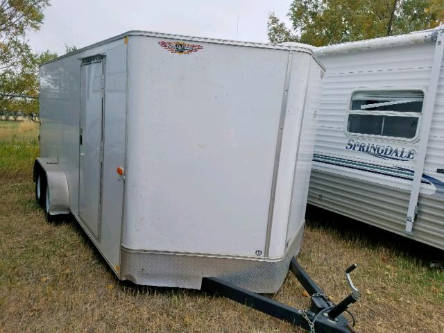 Salvage 2016 Arrow TRAILER for sale