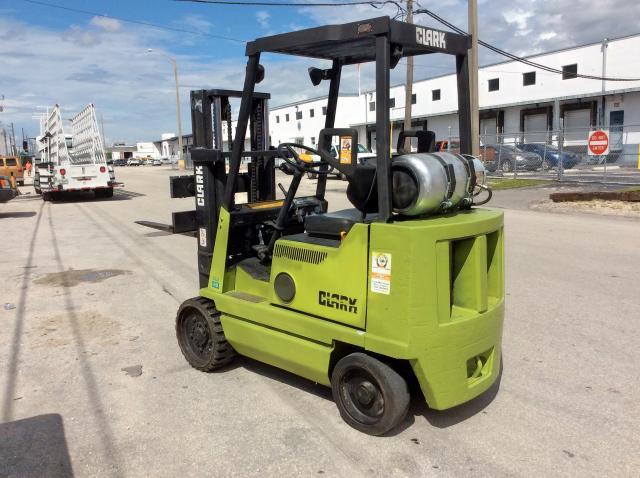 click here to view 1999 CLARK FORKLIFT SIT DN LPG at IBIDSAFELY