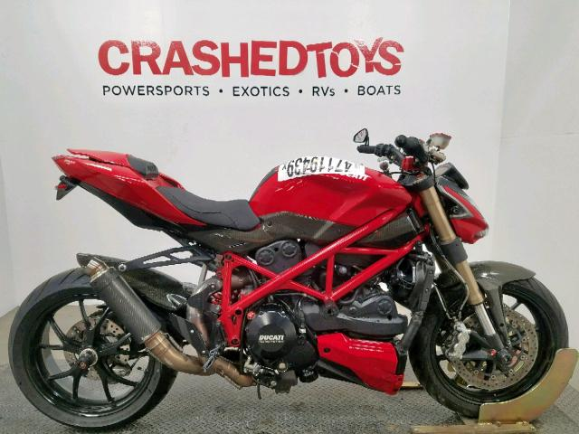 click here to view 2012 DUCATI STREETFIGH at IBIDSAFELY