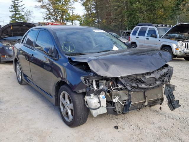 Salvage cars for sale from Copart Northfield, OH: 2013 Toyota Corolla BA