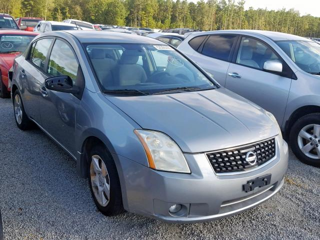 Salvage cars for sale at Harleyville, SC auction: 2009 Nissan Sentra 2.0