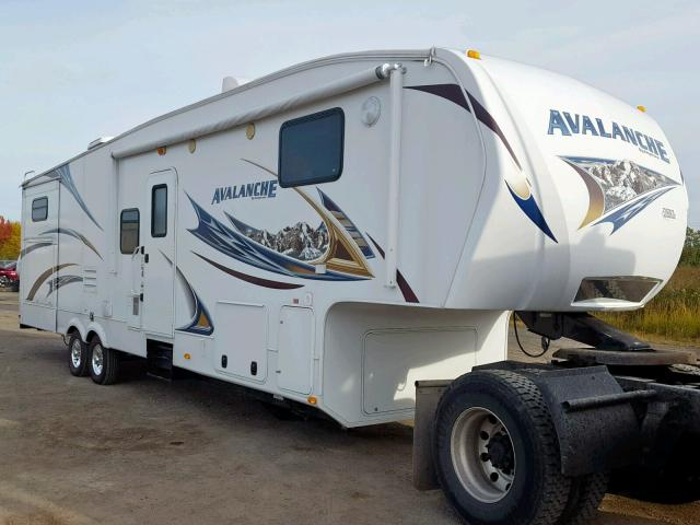 Keystone Avalanche salvage cars for sale: 2011 Keystone Avalanche
