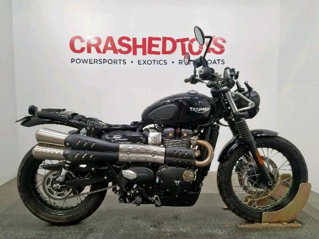 click here to view 2018 TRIUMPH MOTORCYCLE STREET SCR at IBIDSAFELY