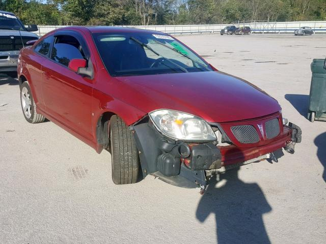 Salvage 2009 Pontiac G5 GT for sale