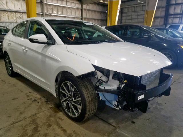 Salvage cars for sale from Copart Woodburn, OR: 2020 Hyundai Elantra SE