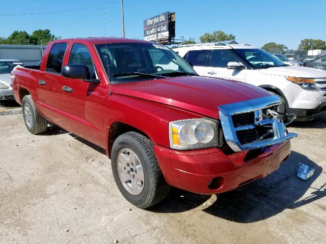 Dodge salvage cars for sale: 2006 Dodge Dakota Quattro