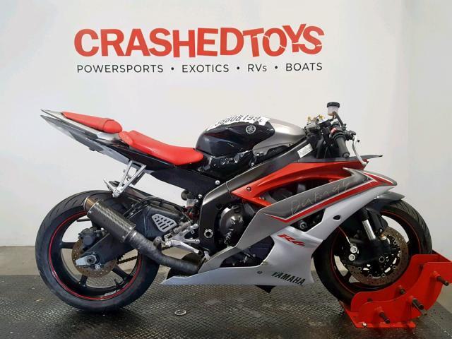 Salvage 2009 Yamaha YZFR6 for sale
