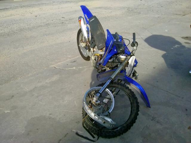 Salvage 2009 YAMAHA DIRT BIKE - Small image. Lot 52123829