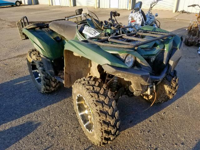 Salvage 2016 Yamaha YFM700 FWA for sale