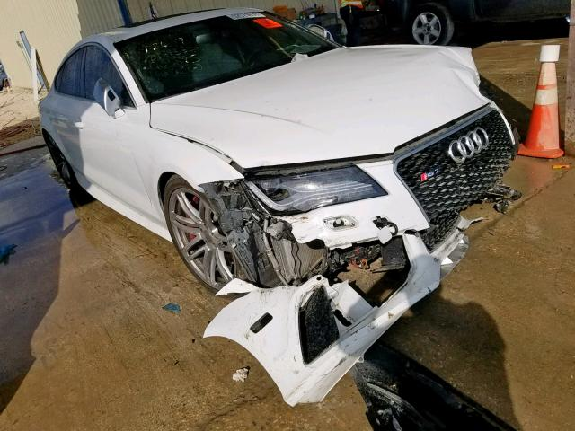 Salvage cars for sale from Copart San Antonio, TX: 2014 Audi RS7
