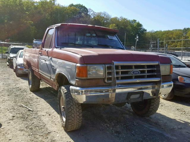 1987 Ford F250 >> 1987 Ford F250 Photos Md Baltimore Salvage Car Auction