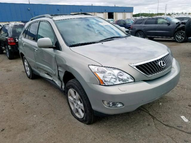 Salvage cars for sale from Copart Woodhaven, MI: 2008 Lexus RX 350