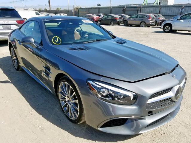 click here to view 2018 MERCEDES-BENZ SL 450 at IBIDSAFELY