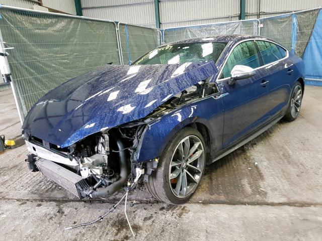 AUDI S5 TFSI QU - 2017 rok