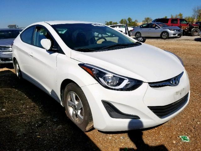 Salvage cars for sale from Copart Bridgeton, MO: 2014 Hyundai Elantra SE