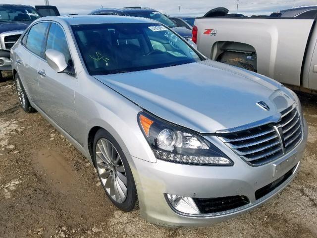 Salvage 2014 Hyundai EQUUS SIGN for sale