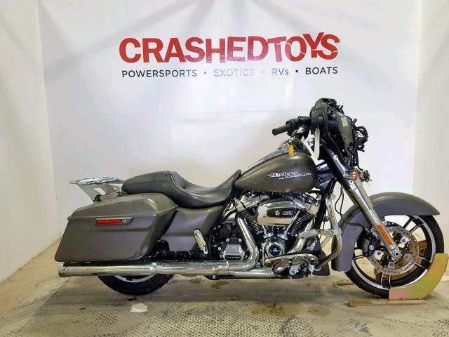 Salvage 2018 Harley-Davidson FLHX STREET for sale