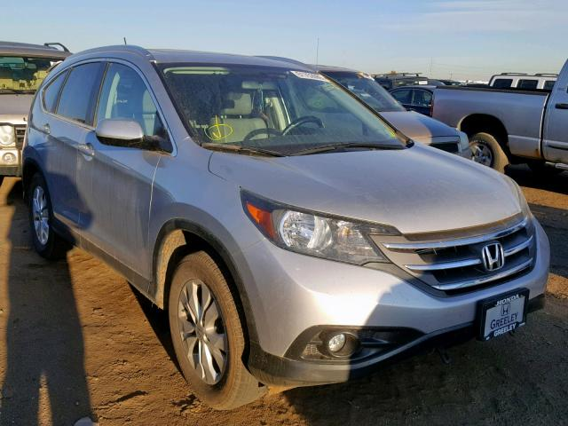 Honda CR-V EXL salvage cars for sale: 2012 Honda CR-V EXL