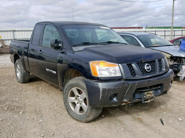 Salvage cars for sale from Copart Columbus, OH: 2008 Nissan Titan XE