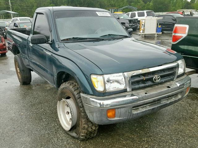 Salvage cars for sale from Copart Savannah, GA: 1998 Toyota Tacoma