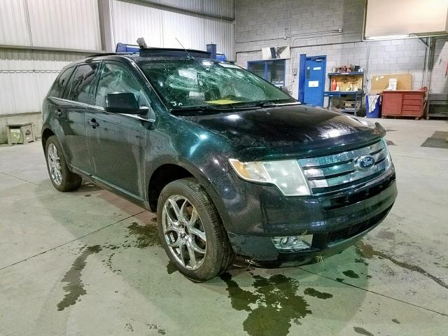 Salvage cars for sale from Copart Montreal Est, QC: 2010 Ford Edge Limited