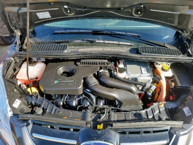 1FADP5AU3JL104855 - 2018 Ford C-Max Se 2.0L inside view