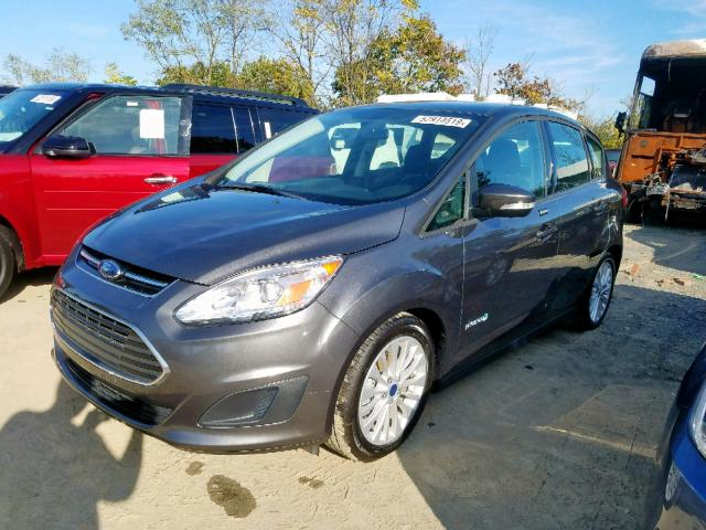 1FADP5AU3JL104855 - 2018 Ford C-Max Se 2.0L Right View