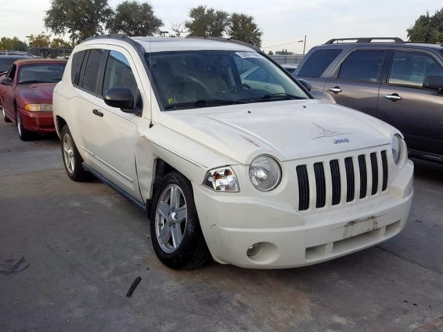 Jeep Compass SP salvage cars for sale: 2009 Jeep Compass SP