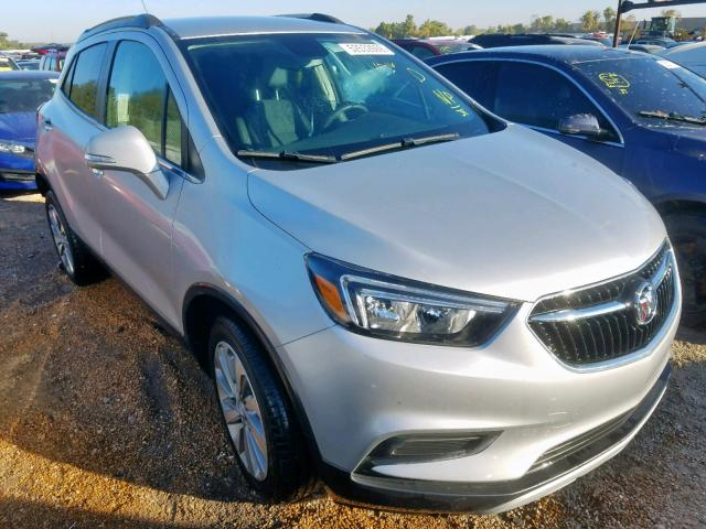 Salvage cars for sale from Copart Bridgeton, MO: 2018 Buick Encore PRE