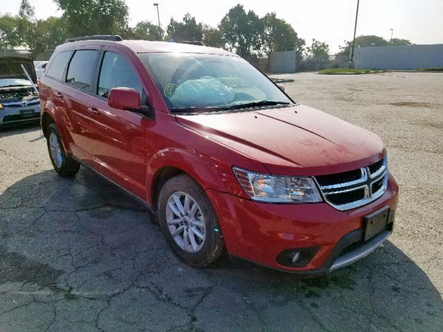 2018 Dodge Journey Sx 3.6L