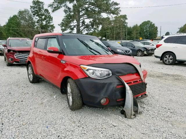 Salvage cars for sale from Copart Loganville, GA: 2016 KIA Soul