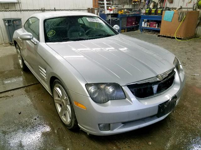 Salvage 2007 Chrysler CROSSFIRE for sale