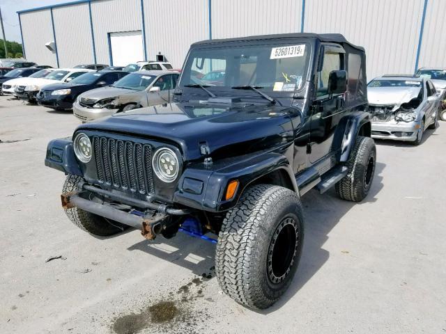 1999 Jeep Wrangler For Sale >> 1999 Jeep Wrangler 4 0l 6 For Sale In Apopka Fl Lot 52601319
