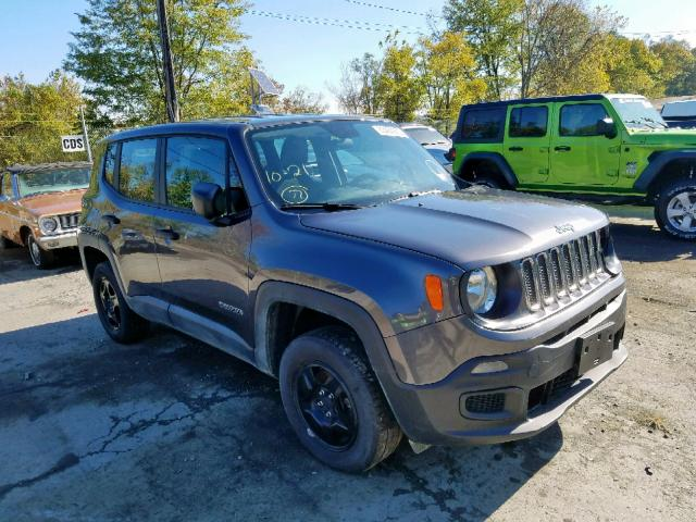 Salvage 2018 Jeep RENEGADE S for sale