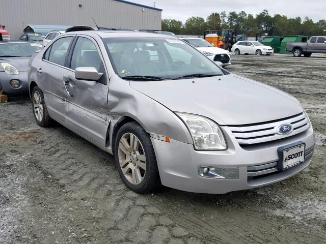2007 Ford Fusion Sel >> 2007 Ford Fusion Sel 3 0l 6 For Sale In Spartanburg Sc Lot 53288469
