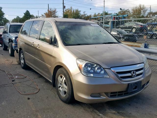 Salvage 2006 Honda ODYSSEY EX for sale
