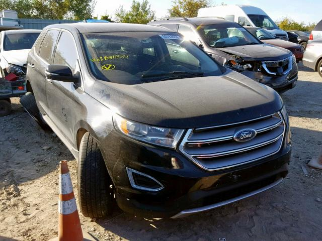 2017 Ford Edge Titanium en venta en Kansas City, KS