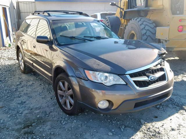Salvage 2008 SUBARU OUTBACK 2. - Small image. Lot 53215059