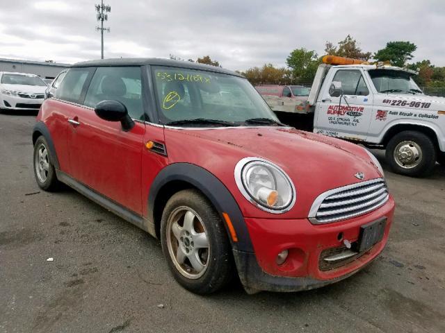 2011 Mini Cooper 1.6L