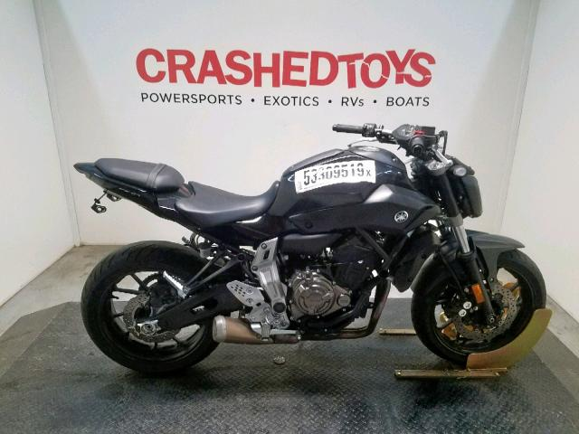 Salvage 2016 Yamaha FZ07 for sale