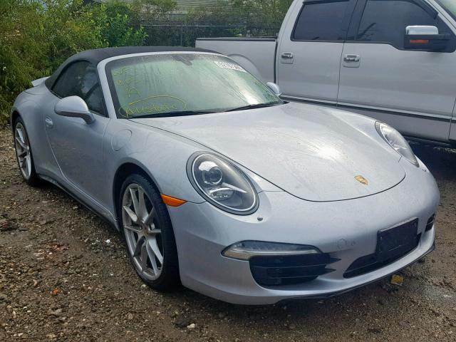2014 Porsche 911 Carrer 34l 6 In Tx Houston