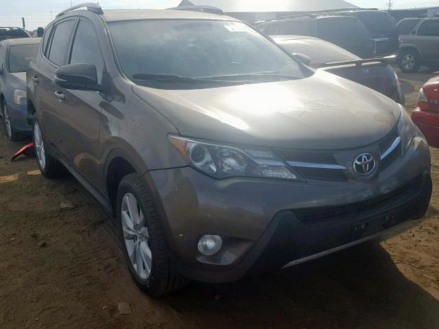 Toyota Rav4 Limited salvage cars for sale: 2014 Toyota Rav4 Limited