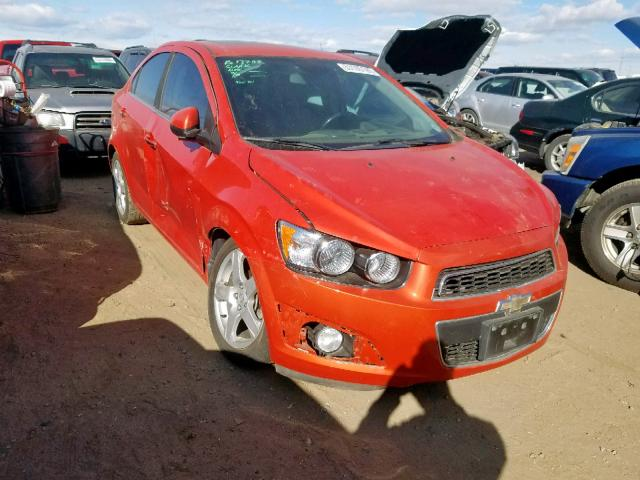 2013 Chevrolet Sonic Ltz 1.4L