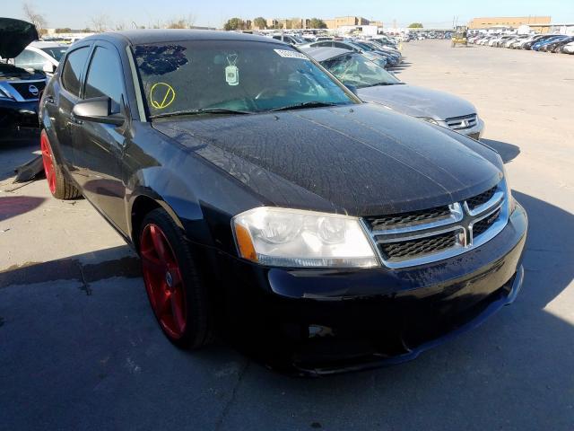 Vehiculos salvage en venta de Copart Grand Prairie, TX: 2013 Dodge Avenger SE